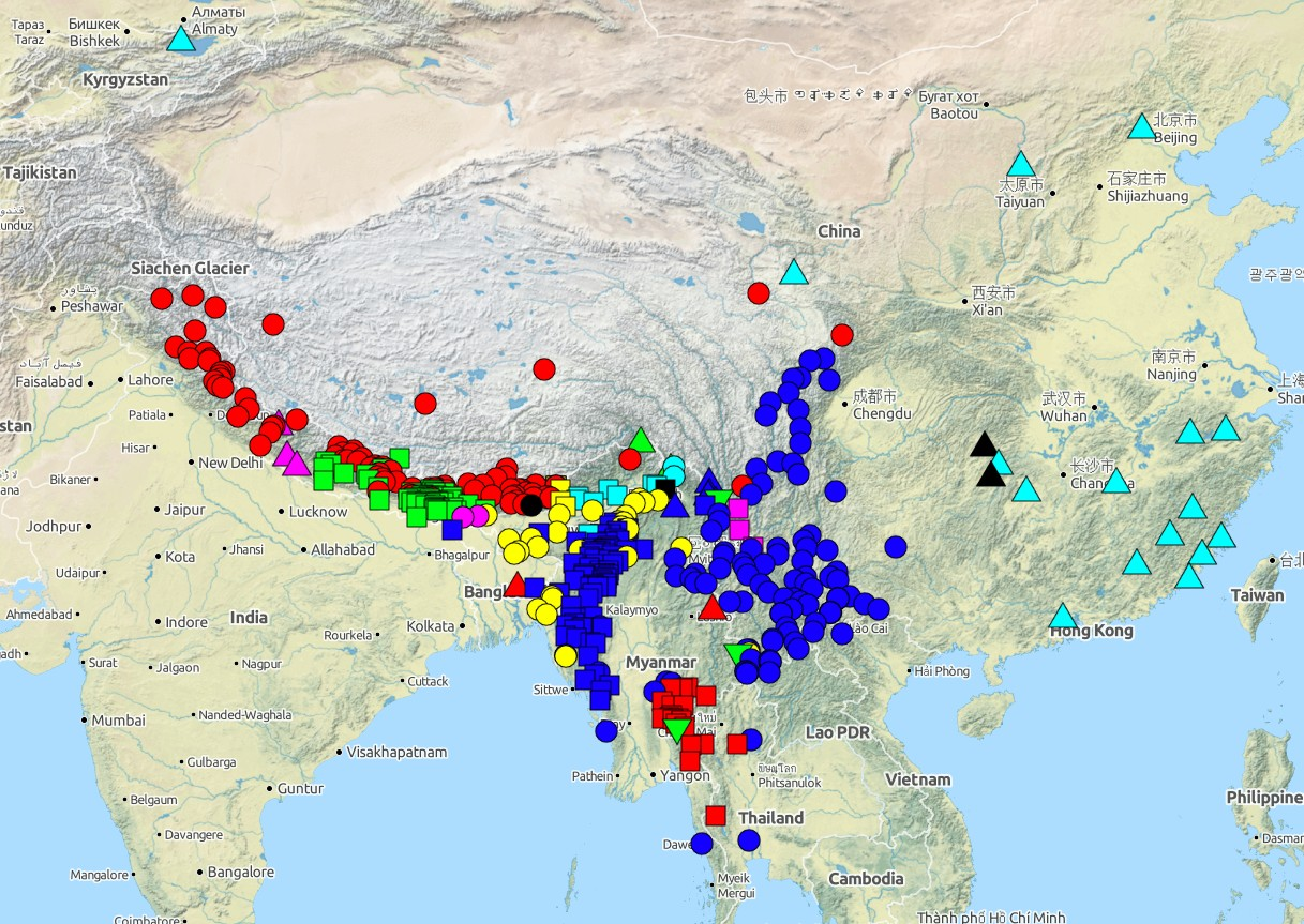 CLLD CrossLinguistic Linked Data - World atlas of languages